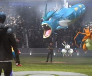 Покемоны в рекламе Суперкубка 2016