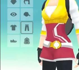 Создание персонажа в Pokemon GO