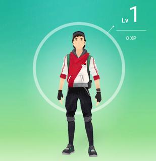 Pokemon Go Trainer EXP