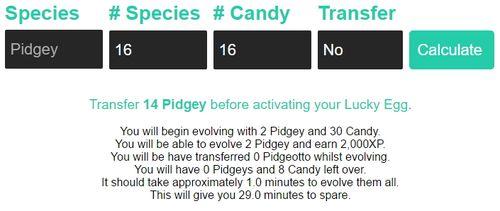 Pidgey Spam