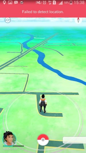"""Failed to detect location"" в Pokemon GO"