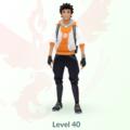 Игрок достиг максимального уровня в Pokemon GO