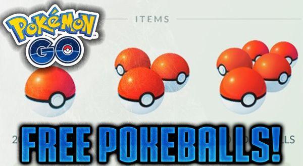 получить покеболы в Pokemon GO