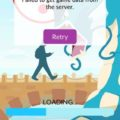 «Failed to get game data from the server» в Pokemon GO