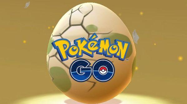 Покемон Го яйца