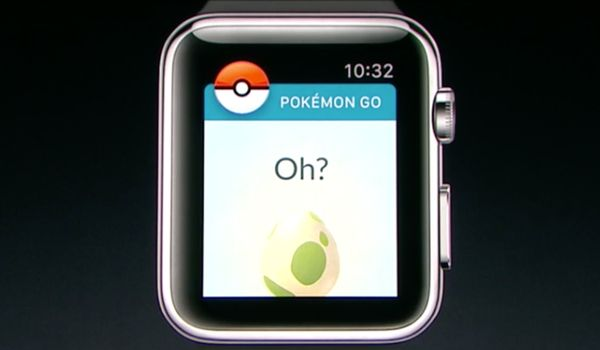 Pokemon Go на Apple Watch