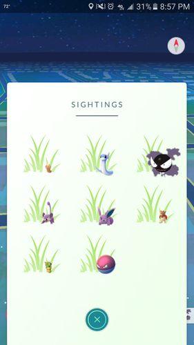 Изменение спавна покемонов в Pokemon GO