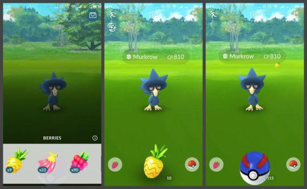 Как использовать ягоды в Покемон ГО?