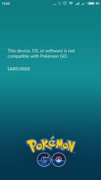 проблемы со входом в Pokemon GO