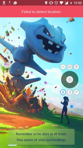"""Failed to detect location"" Pokemon GO"