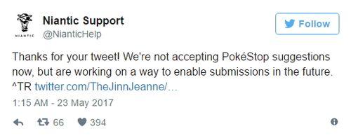 У тренеров Pokemon GO появится возможность добавлять новые покестопы в игру!