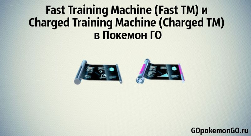 Fast Training Machine (Fast TM) и Charged Training Machine