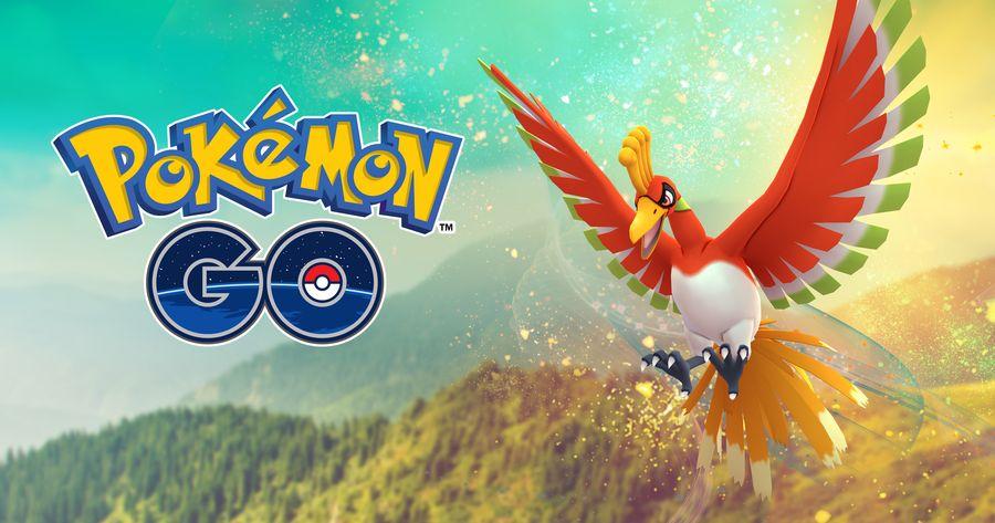 Ho-Oh появился в Pokemon GO!