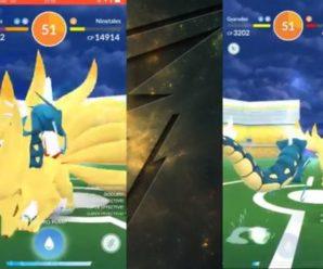 Найнтейлс х2 в Pokemon GO — Соло (усиленный / нормальный)