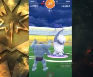 Рейд босс Absol в Pokemon GO — на двоих.