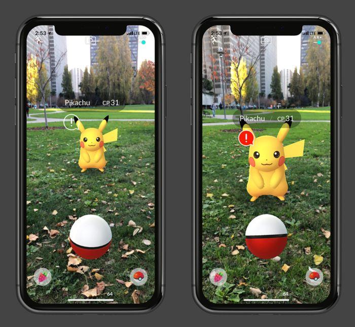 AR Plus в Pokemon GO