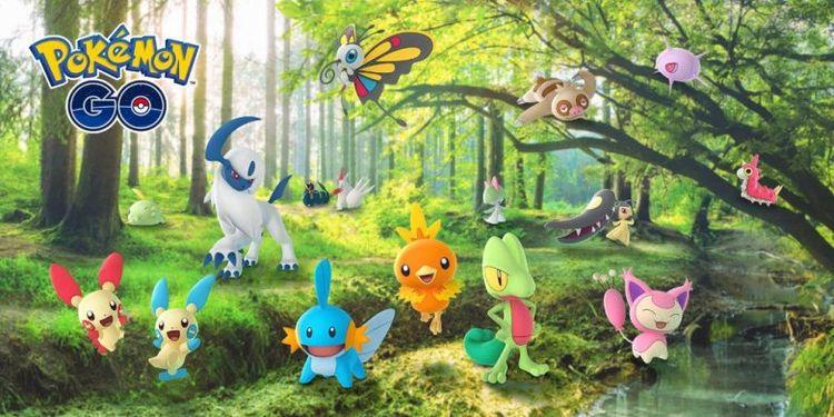 Третье поколение покемонов уже в Pokemon GO!