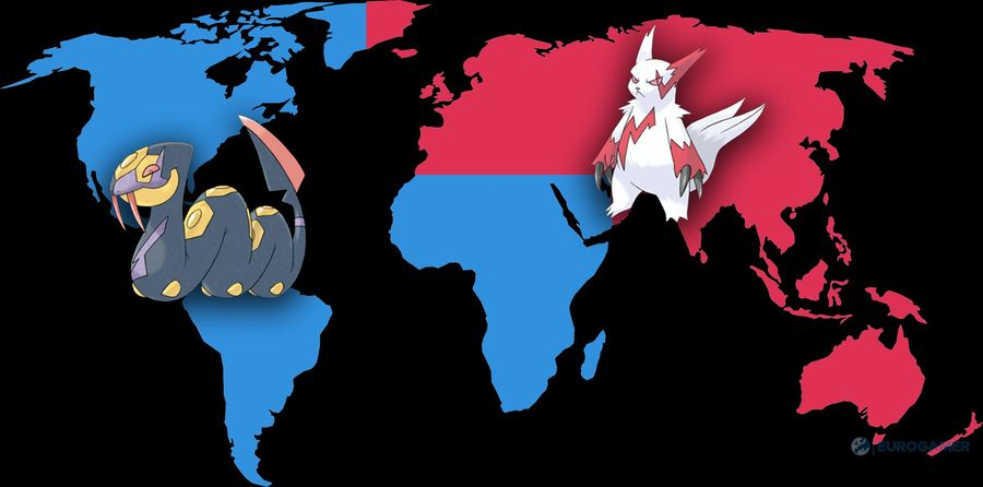 Первая миграция региональных покемонов в Pokemon GO!