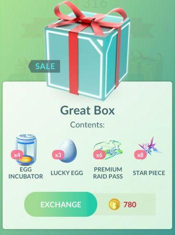 Распродажа в Pokemon GO