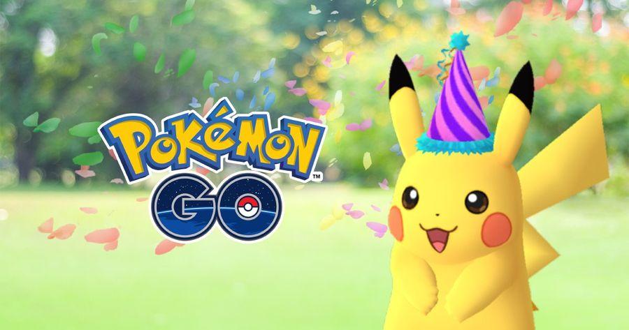 Праздничный Пикачу с атакой Present в Pokemon GO!