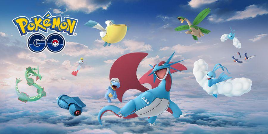 Новые покемоны в Pokemon GO, рейд босс Рейкваза и распродажа в магазине