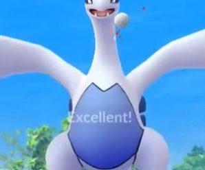 Вчетвером — на Лугию В Pokemon GO!
