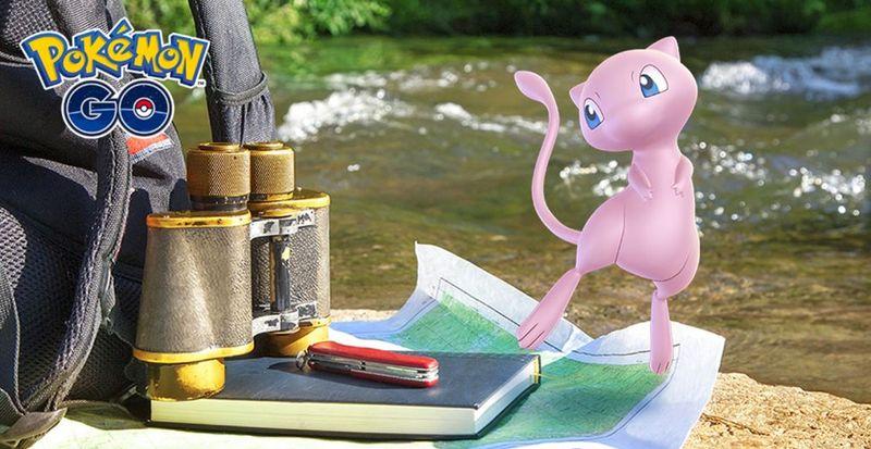 Мью в Pokemon GO - шанс поимки 100 процентов!