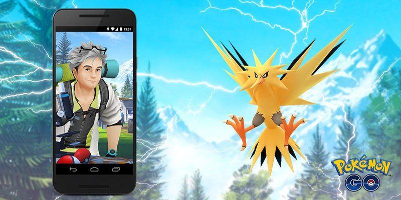Запдос в Полевых Квестах Pokemon GO с 1 мая!