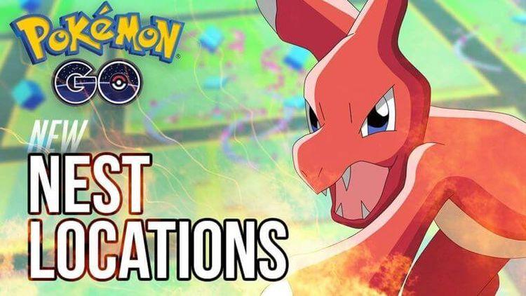 Новые гнезда покемонов в Pokemon GO по всему миру!