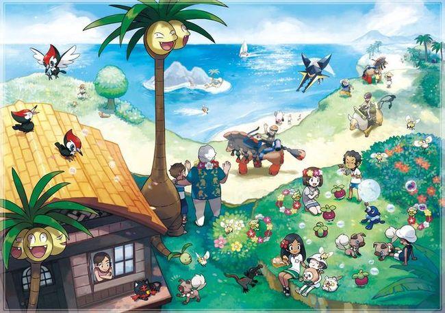 Покемоны региона Алола в Pokemon GO - что за покемоны?