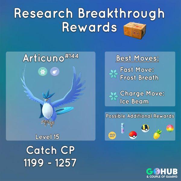 Артикуно вернулся в Pokemon GO