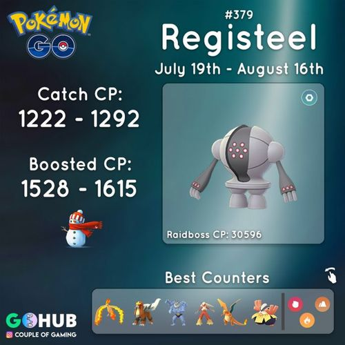 Registeel (Реджистил) в Pokemon GO