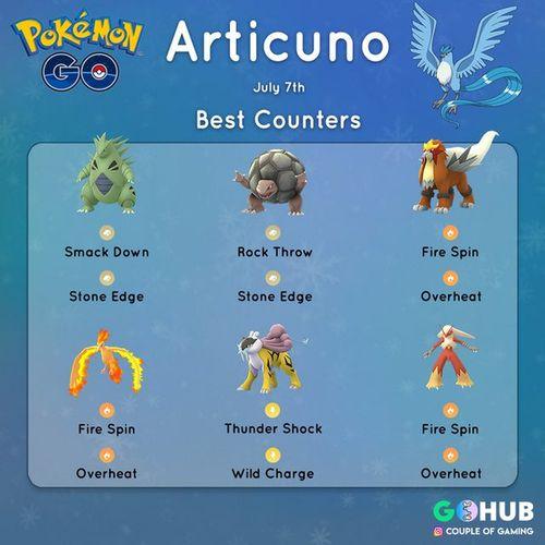 Артикуно в Pokemon GO всего на 3 часа!