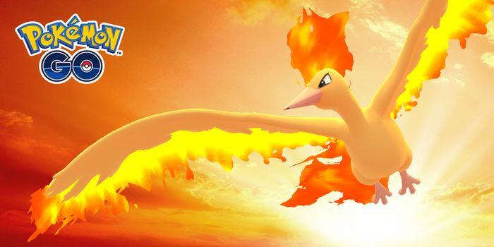 День Молтреса в Pokemon GO - 8 сентября