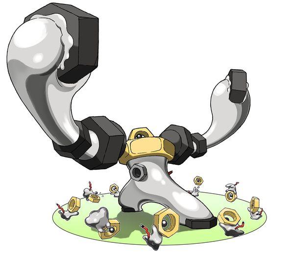 Melmetal - новый мифический покемон в Pokemon GO!