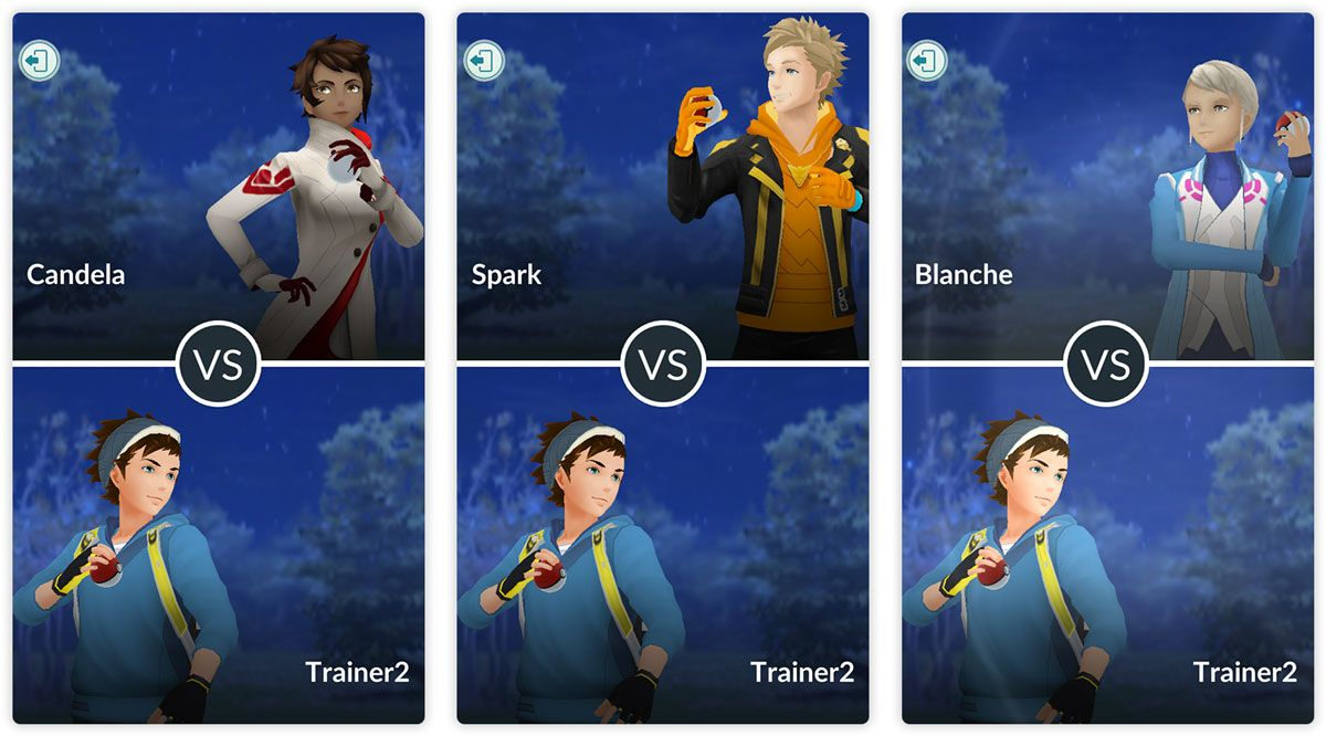PvP в Pokemon GO (Битвы тренеров)
