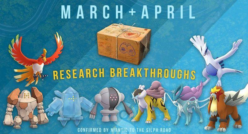 Все квесты Pokemon GO в марте и апреле (+награды)