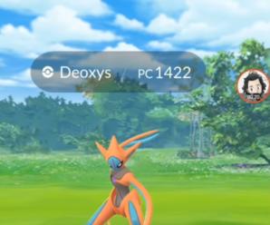 Соло рейд на Деоксиса в Pokemon GO — легко и просто!