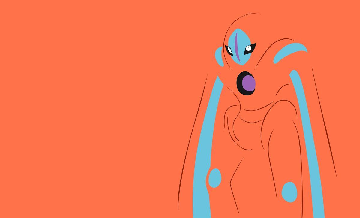 Deoxys (Защитная форма Деоксис) - EX-рейд босс в Pokemon GO