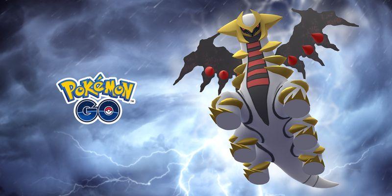Гиратина возвращается в рейды Pokemon GO!