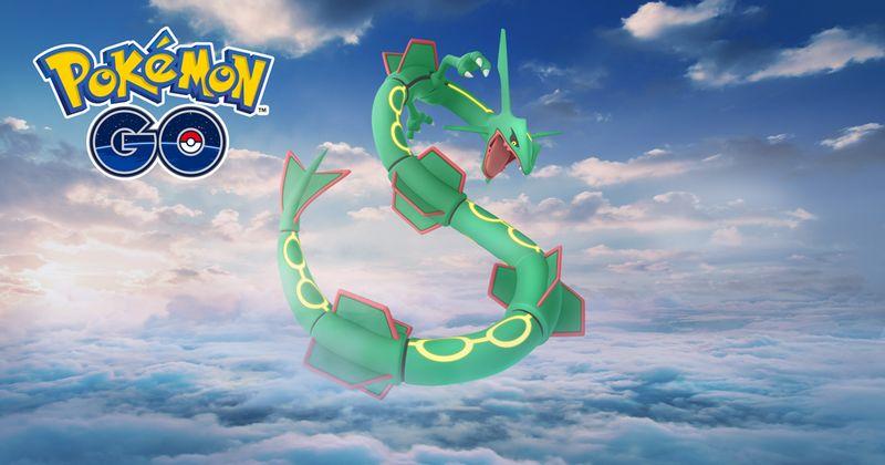 Рейкваза на 3 дня в Pokemon GO!
