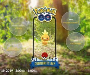 День Сообщества Pokemon GO в мае — Торчик!