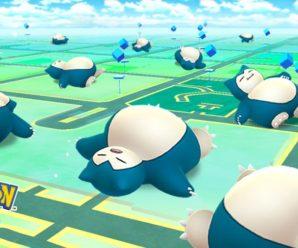 Ивент Pokemon GO «Подреми со Снорлаксом»