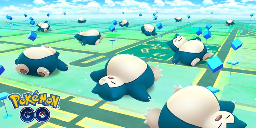 """Ивент Pokemon GO """"Подреми со Снорлаксом"""""""