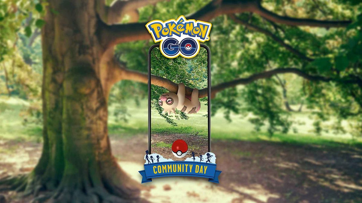 День Сообщества Pokemon GO в июне - Слакот!