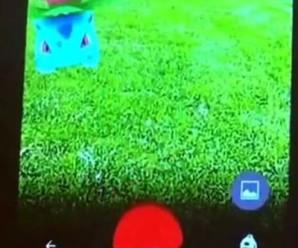 Первый геймплей Pokemon Go