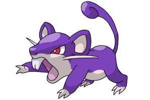 Pokemon GO: эволюция покемона Ratata.