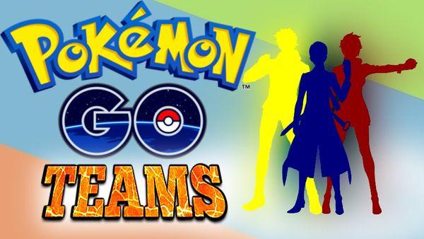 Как выбрать команду в Pokemon Go