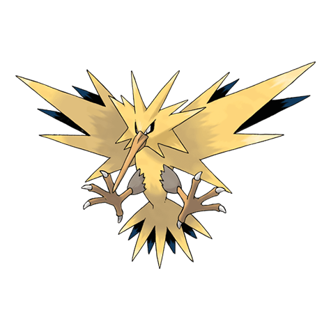 редкий покемон Pokemon go zapdos