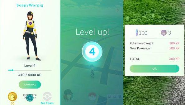 Как поднять уровень в Pokemon GO